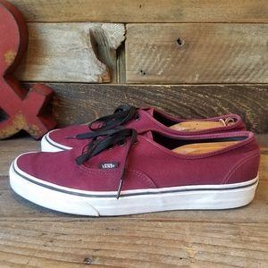 Classic Vans Lace Up Fabric Shoes Men's Size 13
